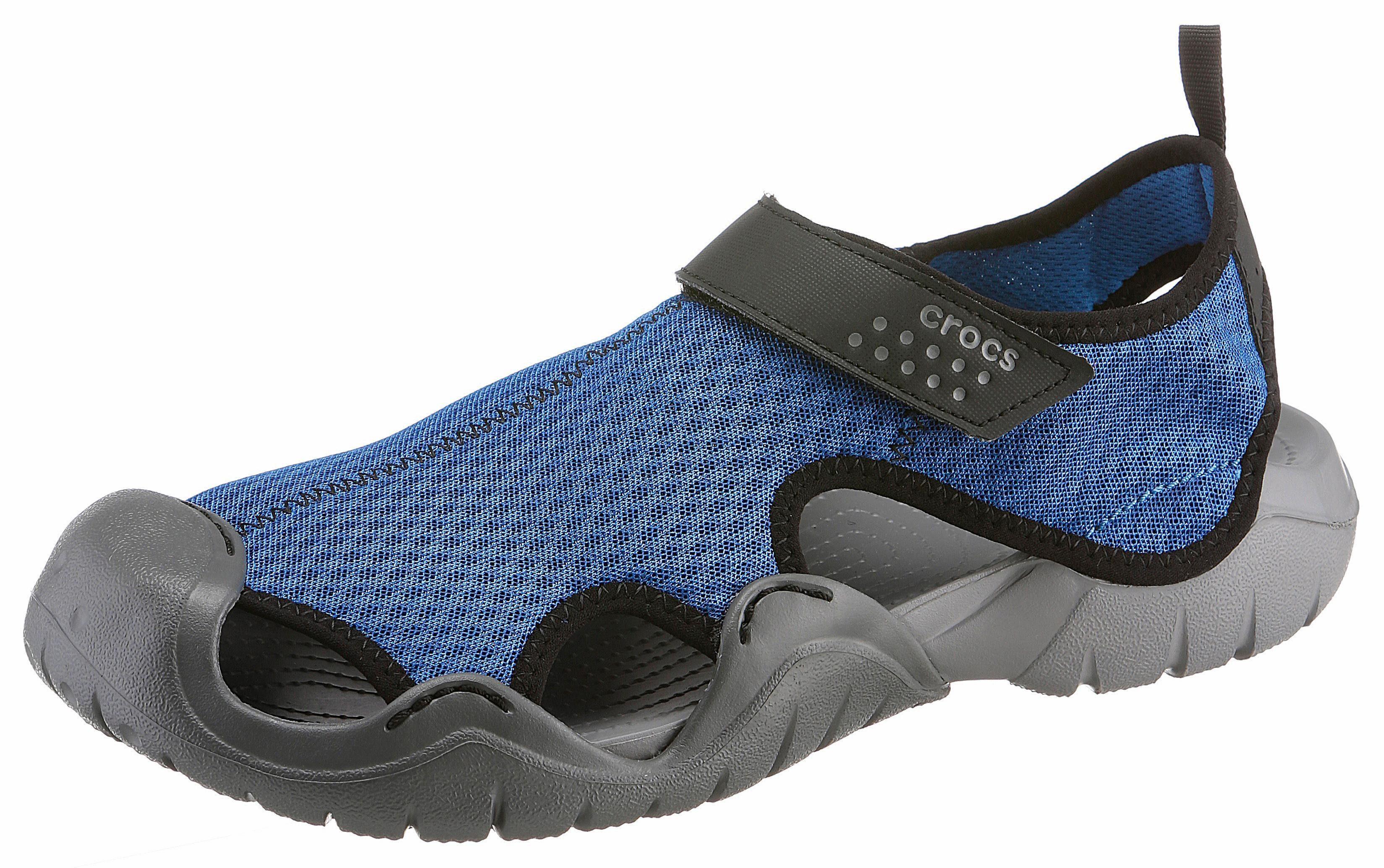 Crocs Swiftwater Sandal Sandale, mit praktischem Klettverschluss online kaufen  blau