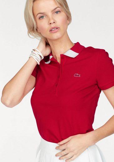 Lacoste Poloshirt, mit kleinem Brust-Logo