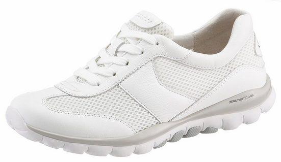 Gabor Rollingsoft Sneaker mit sportlichem Mesheinsatz