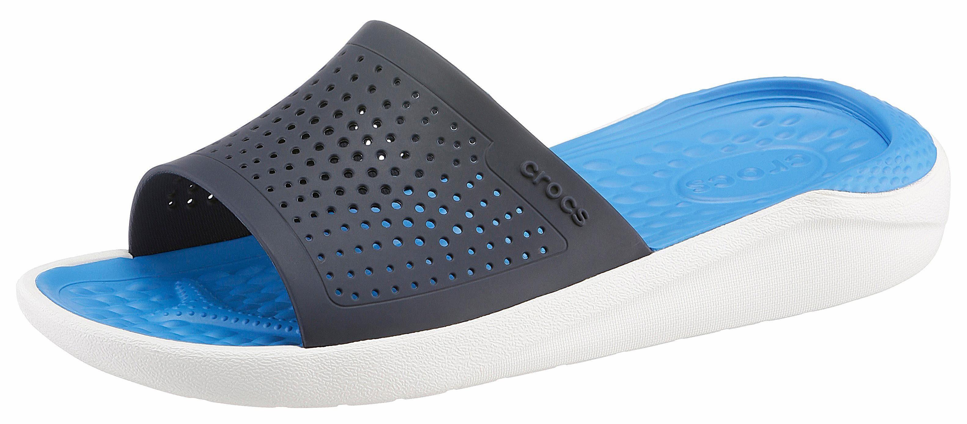 Crocs Lite Ride Slide Pantolette, Leichtgewicht  navy