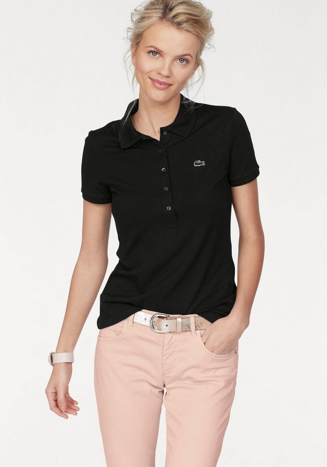 Lacoste Poloshirt mit langer Knopfleiste kaufen   OTTO f4f284484c