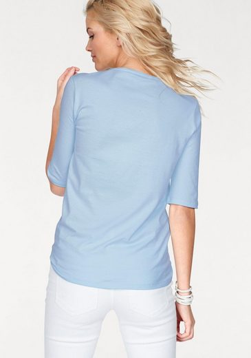 Lacoste Crew-neck Shirt, With Brand-typical Detail