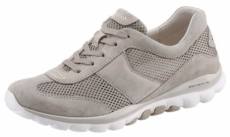 schön in der Farbe zu Füßen bei Modern und elegant in der Mode Gabor Rollingsoft Sneaker mit Optifit-Wechselfußbett online kaufen | OTTO