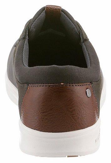 Jack & Jones Jfw Gaston Pu Combo Sneaker, In The Trendy Materialmix