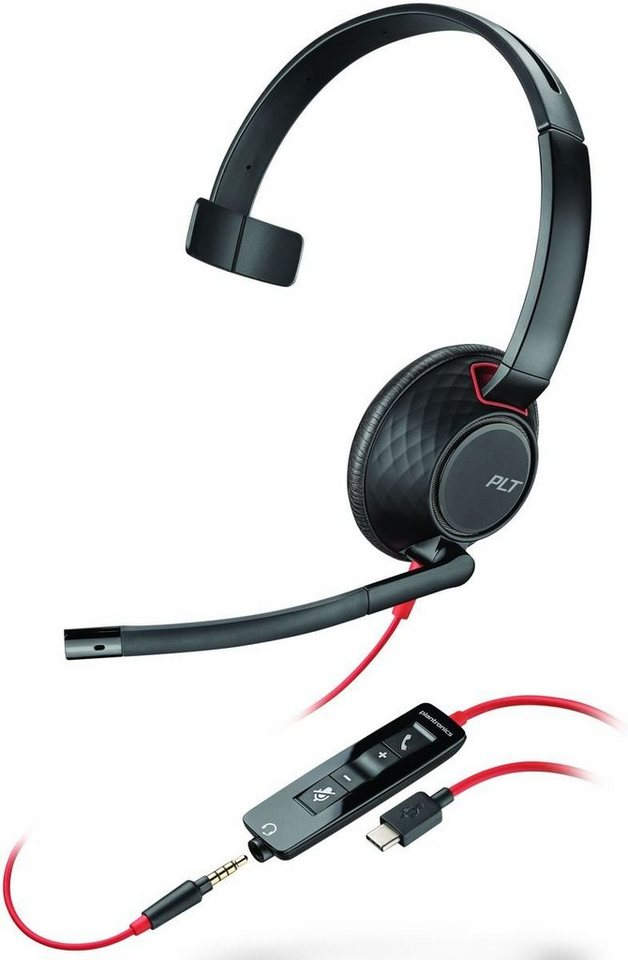 plantronics headset blackwire usb c c5210 kaufen otto. Black Bedroom Furniture Sets. Home Design Ideas