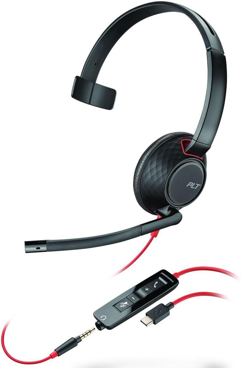 Plantronics Headset »Blackwire USB-C C5210«