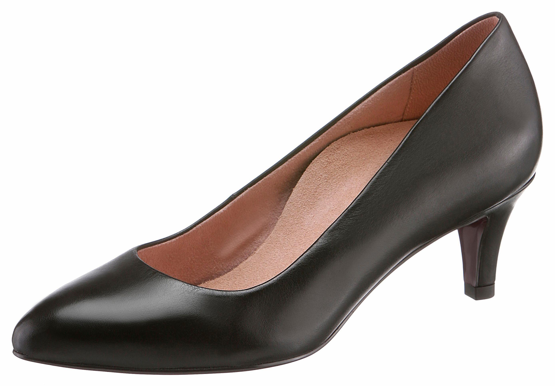 Tamaris »HEART & SOLE« Pumps, mit Fußbett, schwarz, schwarz