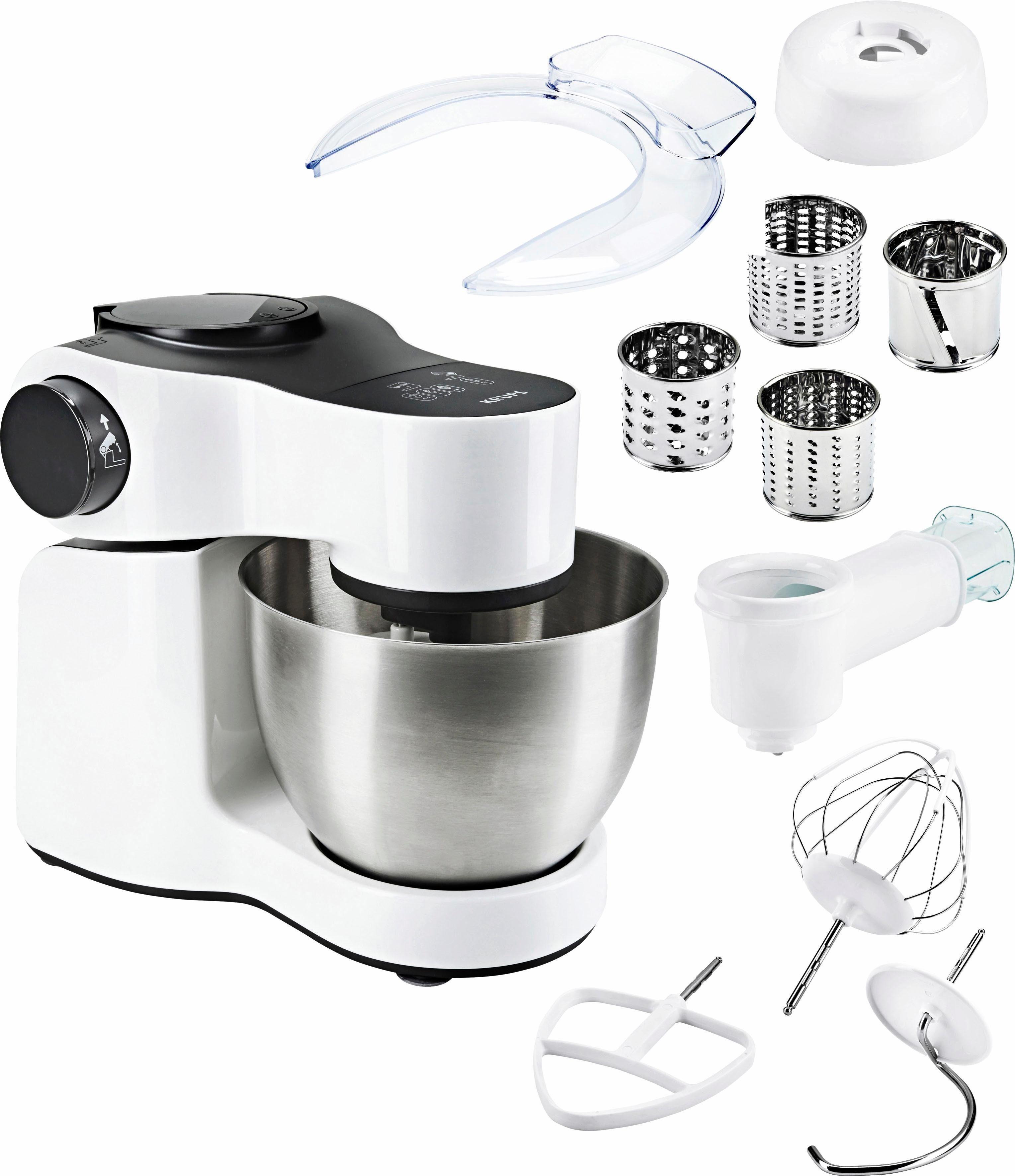 Krups Küchenmaschine KA252111 Master Perfect White, 700 W, 4 l Schüssel