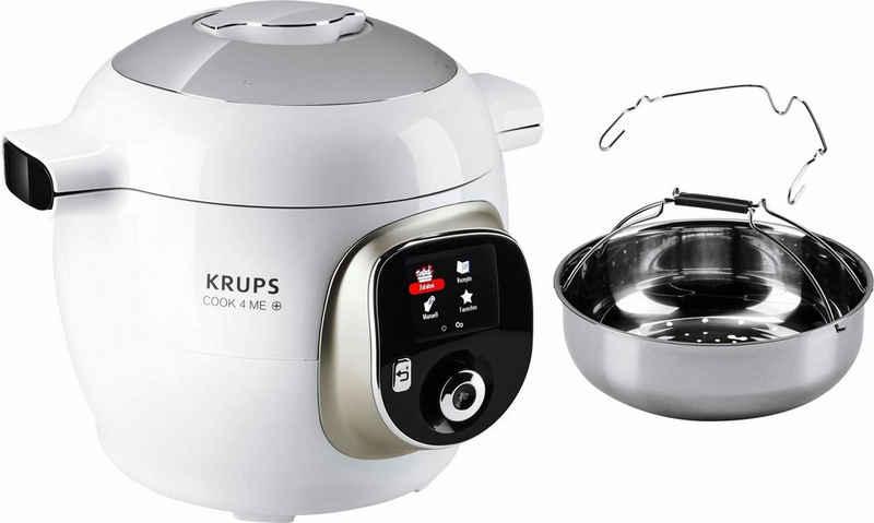 Krups Multikocher CZ7101 Cook4Me +, 1600 W, 6 l Schüssel, 150 vorinstallierte digitale Rezepte