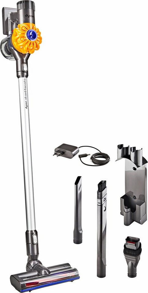 dyson akku hand und stielstaubsauger v6 cord free extra. Black Bedroom Furniture Sets. Home Design Ideas