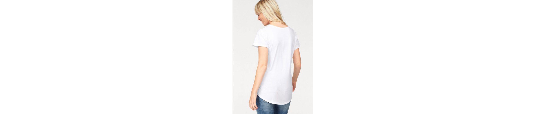 Coccara T-Shirt FIORA, mit großem Statementprint