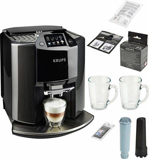 Krups Kaffeevollautomat EA9078 Barista New Age, Carbon, Espresso-Vollautomat, auch für gemahlenen Kaffee