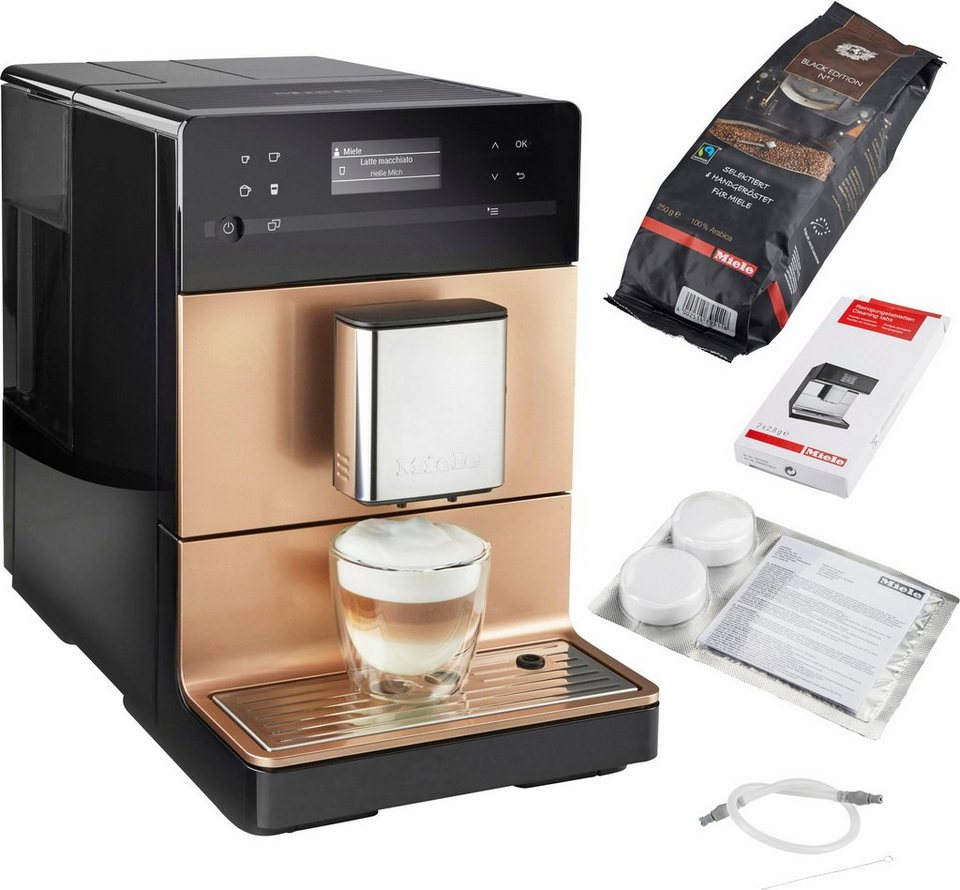 miele kaffeevollautomat cm5500 ros gold pearlfinish 1 3l tank online kaufen otto. Black Bedroom Furniture Sets. Home Design Ideas