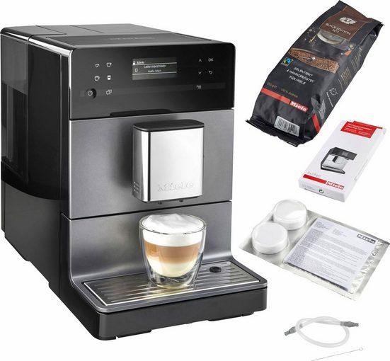 Miele Kaffeevollautomat CM5500 Graphitgrau PearlFinish, individuelle Genießerprofile