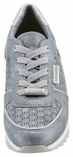 Dockers Sneaker By Und Glitzersteine Perforation Mit Gerli qxqfEArw