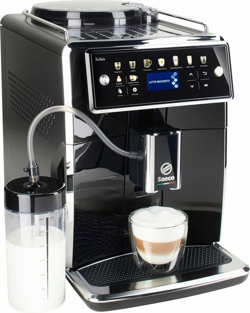 Saeco Kaffeevollautomat SM7580 00 Xelsis, 12 Getränke, piano black