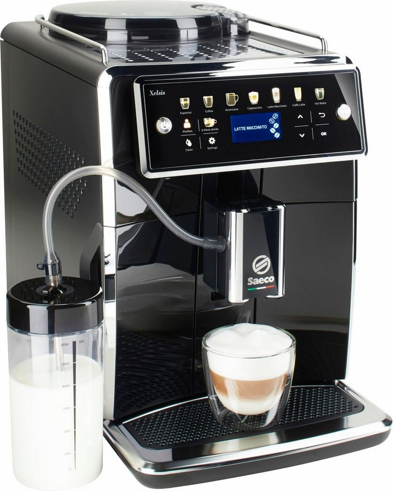 saeco kaffeevollautomat sm7580 00 xelsis 1 7l tank. Black Bedroom Furniture Sets. Home Design Ideas