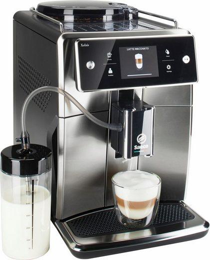 Saeco Kaffeevollautomat SM7683/00 Xelsis, 15 Getränke, Edelstahlfront