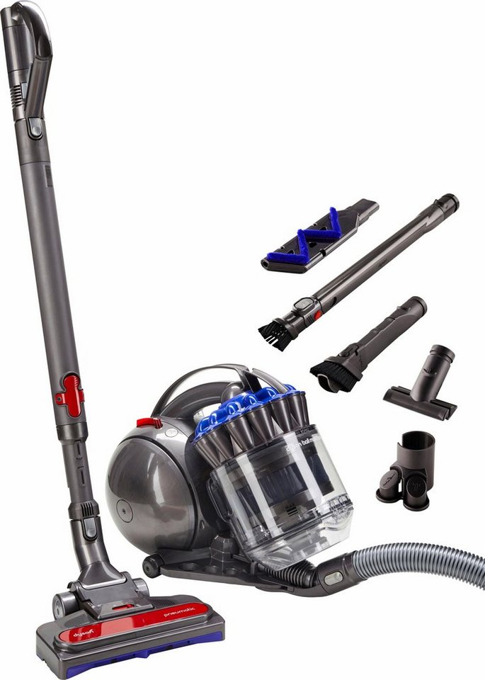dyson bodenstaubsauger dyson ball multifloor 600 watt beutellos neue pneumatische bodend se. Black Bedroom Furniture Sets. Home Design Ideas