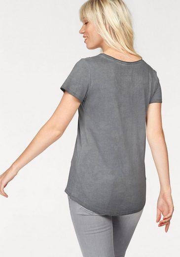 Coccara T-Shirt HERMINE, im rockigen Design