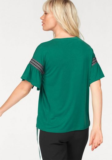 eksept T-Shirt ULTRA TOP, mit Volantärmel