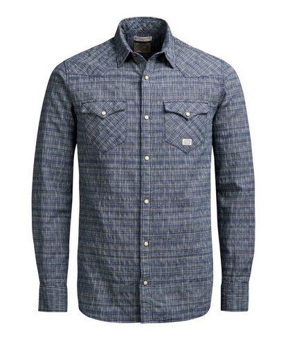 Jack & Jones Western- Langarmhemd