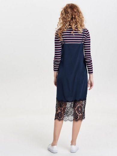 Only Ärmelloses Kleid mit Spitzendetail
