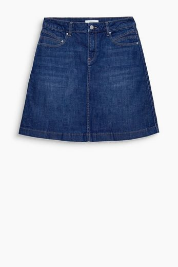 Esprit Flared Mini From Stretch Denim