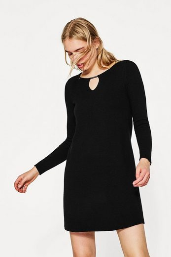 ESPRIT COLLECTION Softes Strickkleid mit edlem Kaschmir