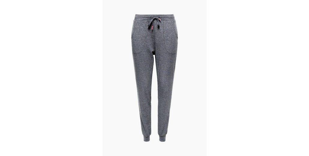 Billig Ausverkauf Auslass Geniue Fachhändler ESPRIT Lässige Jersey-Pants mit Glitzer-Effekt LXfhYguly