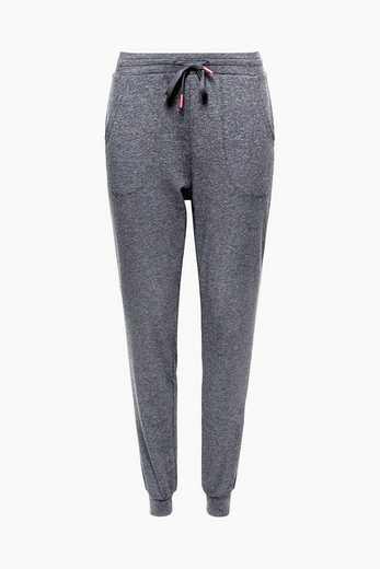 ESPRIT Lässige Jersey-Pants mit Glitzer-Effekt