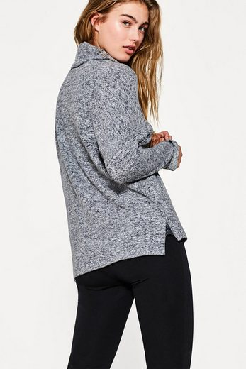 ESPRIT COLLECTION Super-softes Oversize-Shirt mit Rollkragen