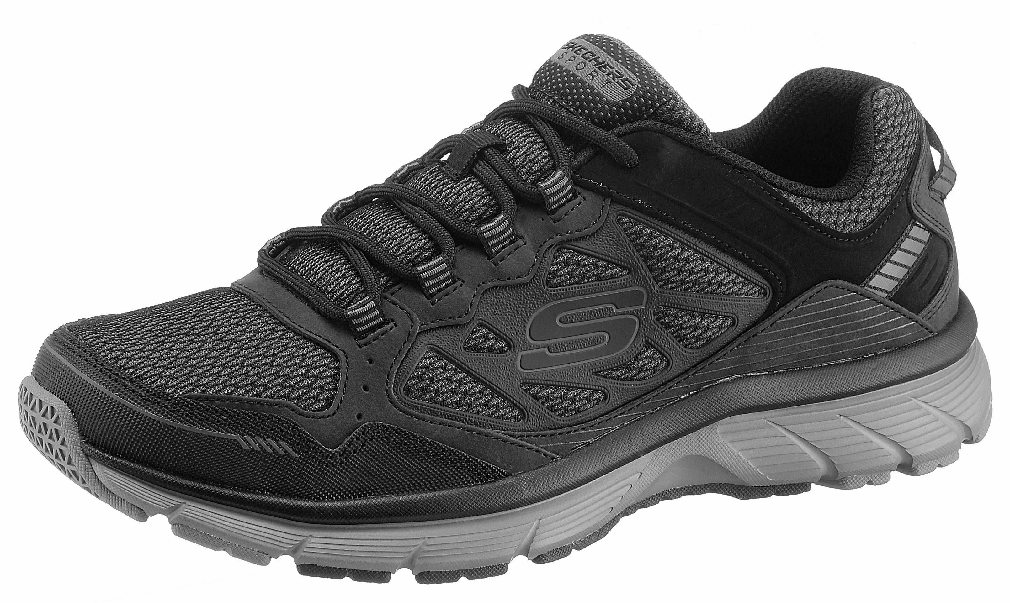 Skechers Bowerz Sneaker, mit luftigem Mesh  schwarz-grau