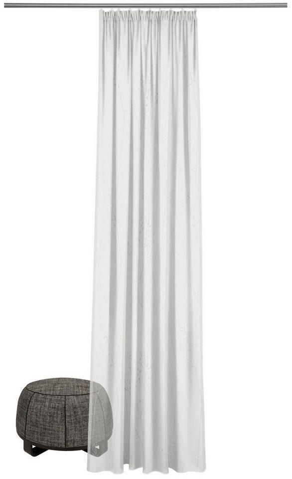 gardine nach ma capsella ado goldkante smokband 1. Black Bedroom Furniture Sets. Home Design Ideas