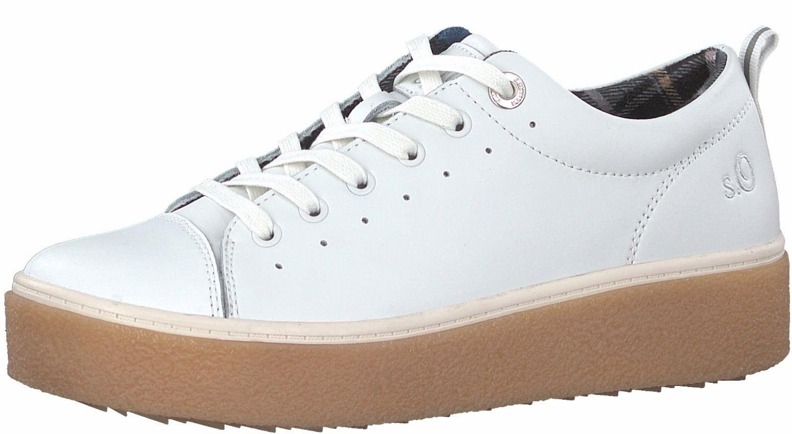 S.Oliver RED LABEL Sneakers weiß 8iYjihS0NK