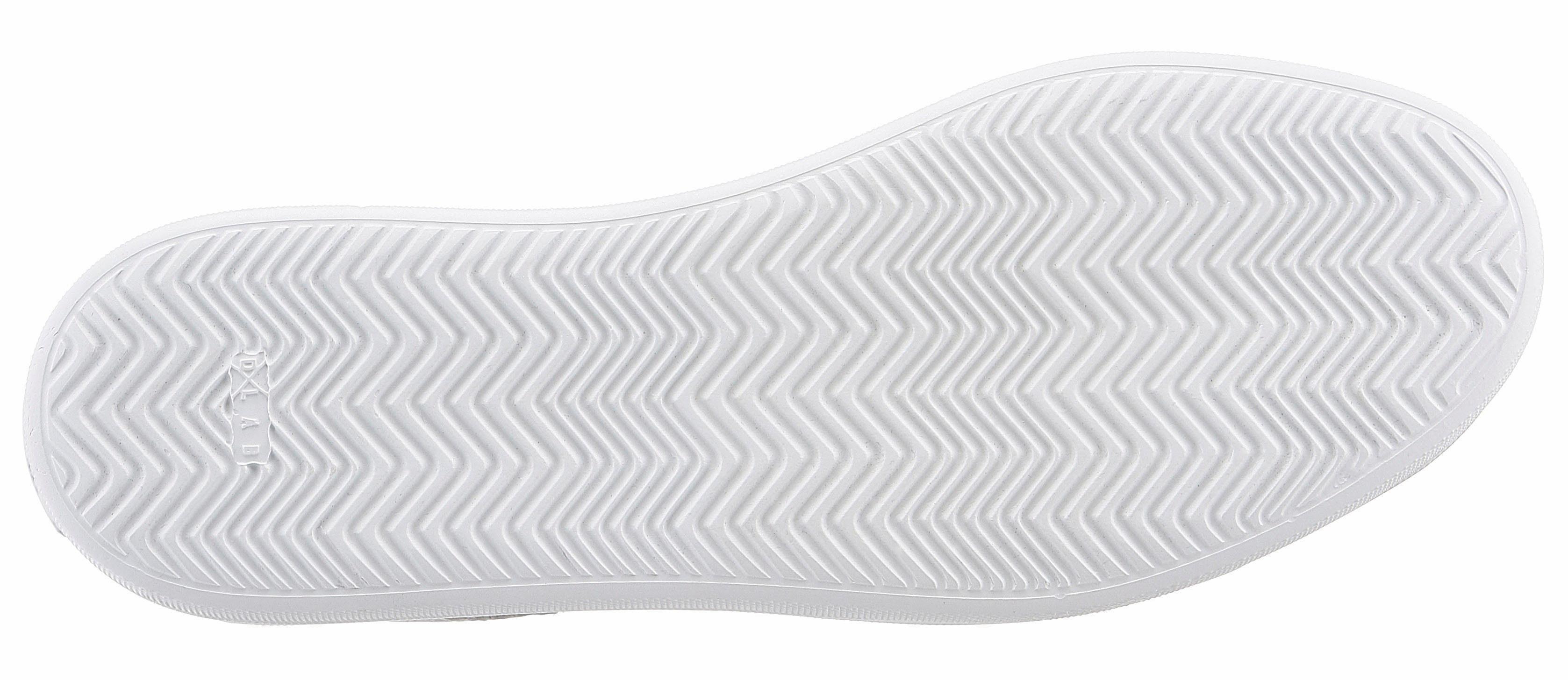GUIDO MARIA KRETSCHMER Plateausneaker, mit angesagtem Lasercut online kaufen  weiß-mint