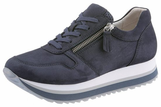 Gabor Sneaker, With Outside Zipper
