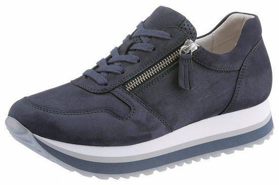Gabor Sneaker, mit Außenreißverschluss