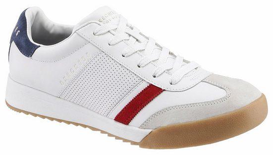 Foam Air Praktischem Skechers Mit »street Memory Zinger« cooled Sneaker wq6vO8