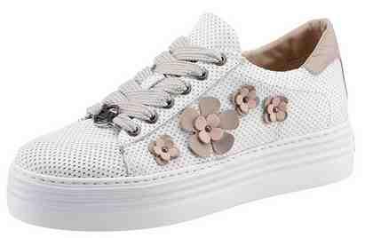GUIDO MARIA KRETSCHMER Sneaker, mit trendiger Blütenapplikation
