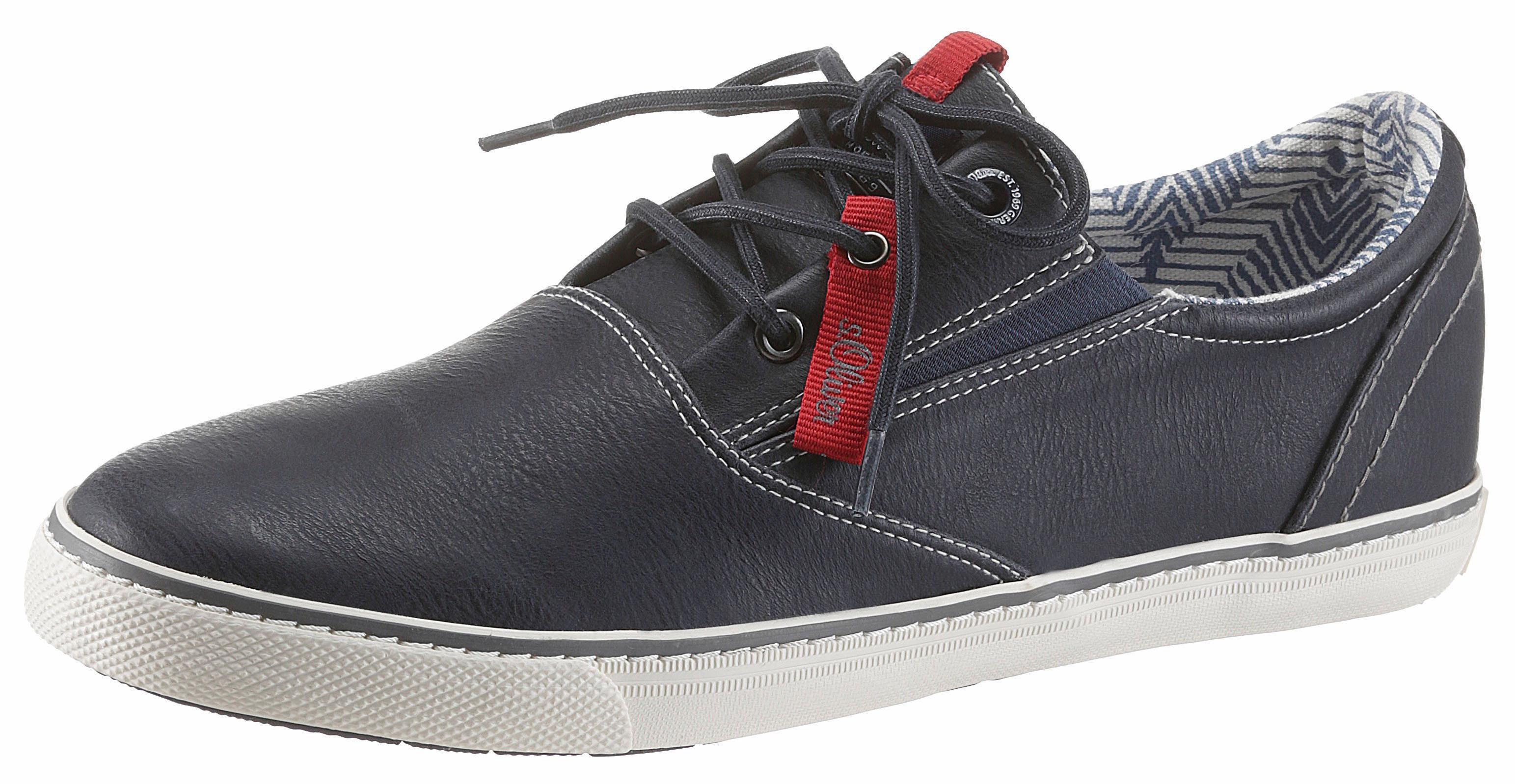 sOliver RED LABEL Sneaker, mit Ziernähten kaufen  navy