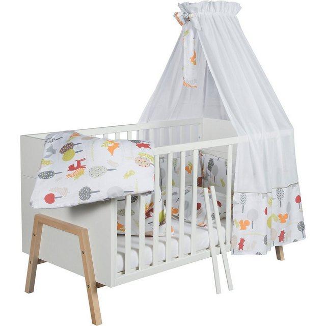 Kinderbetten - Schardt Kinderbett Holly Nature, 70x140 cm, weiß Altmmühlbuche » weiß  - Onlineshop OTTO