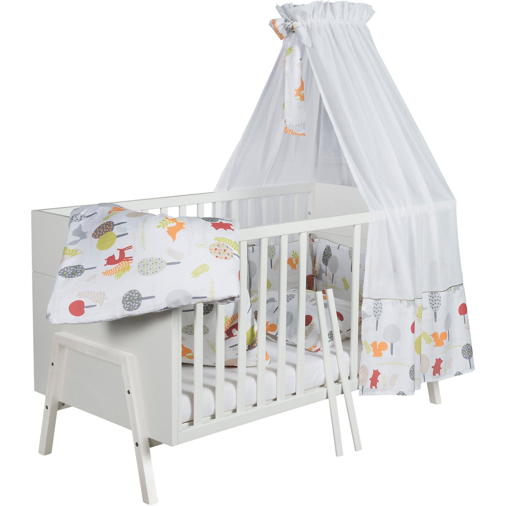 Schardt Kinderbett Holly White, 70 x 140 cm, weiß
