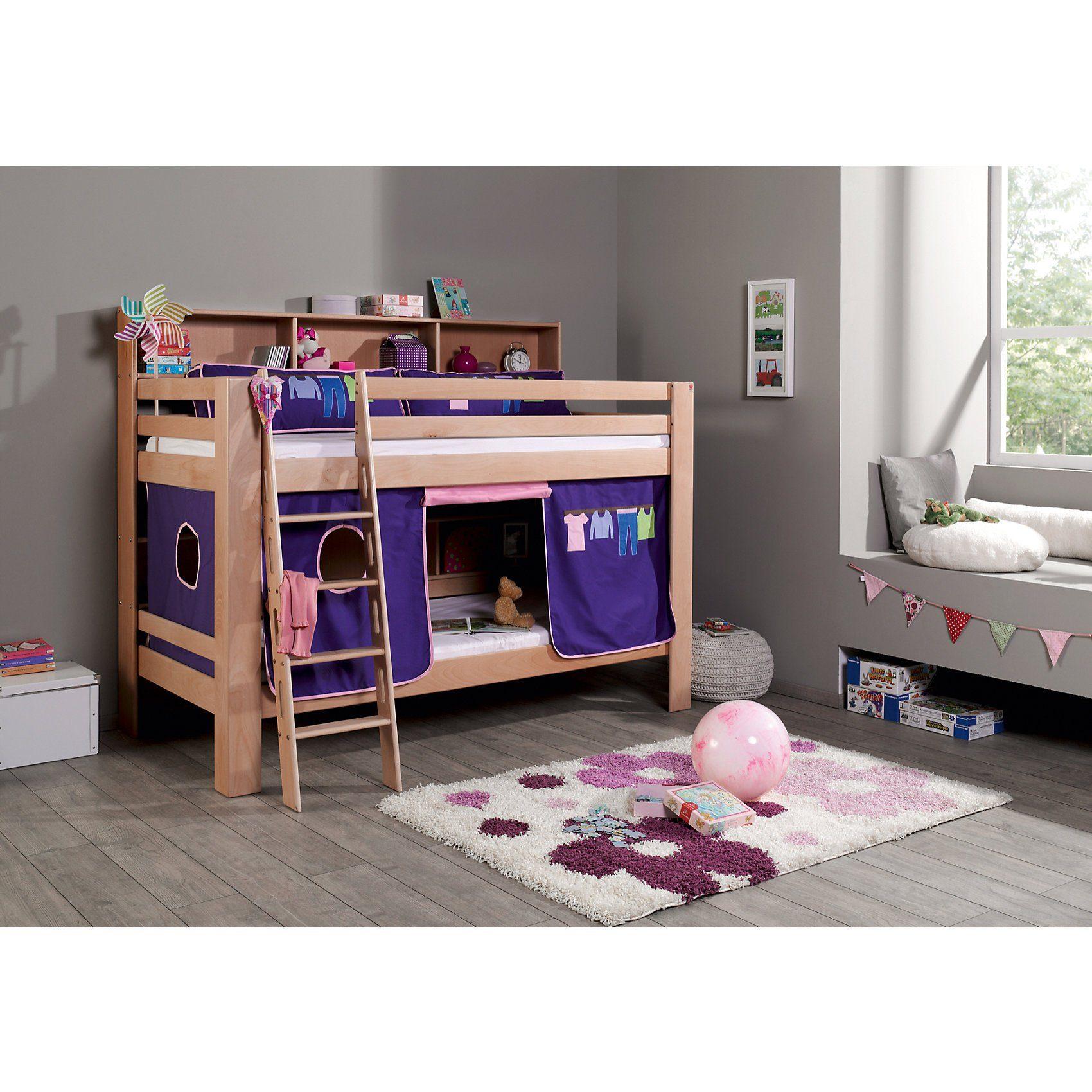 Relita Vorhangset für Spielbett inkl. Hakenband, MAGNUM, BENI und J