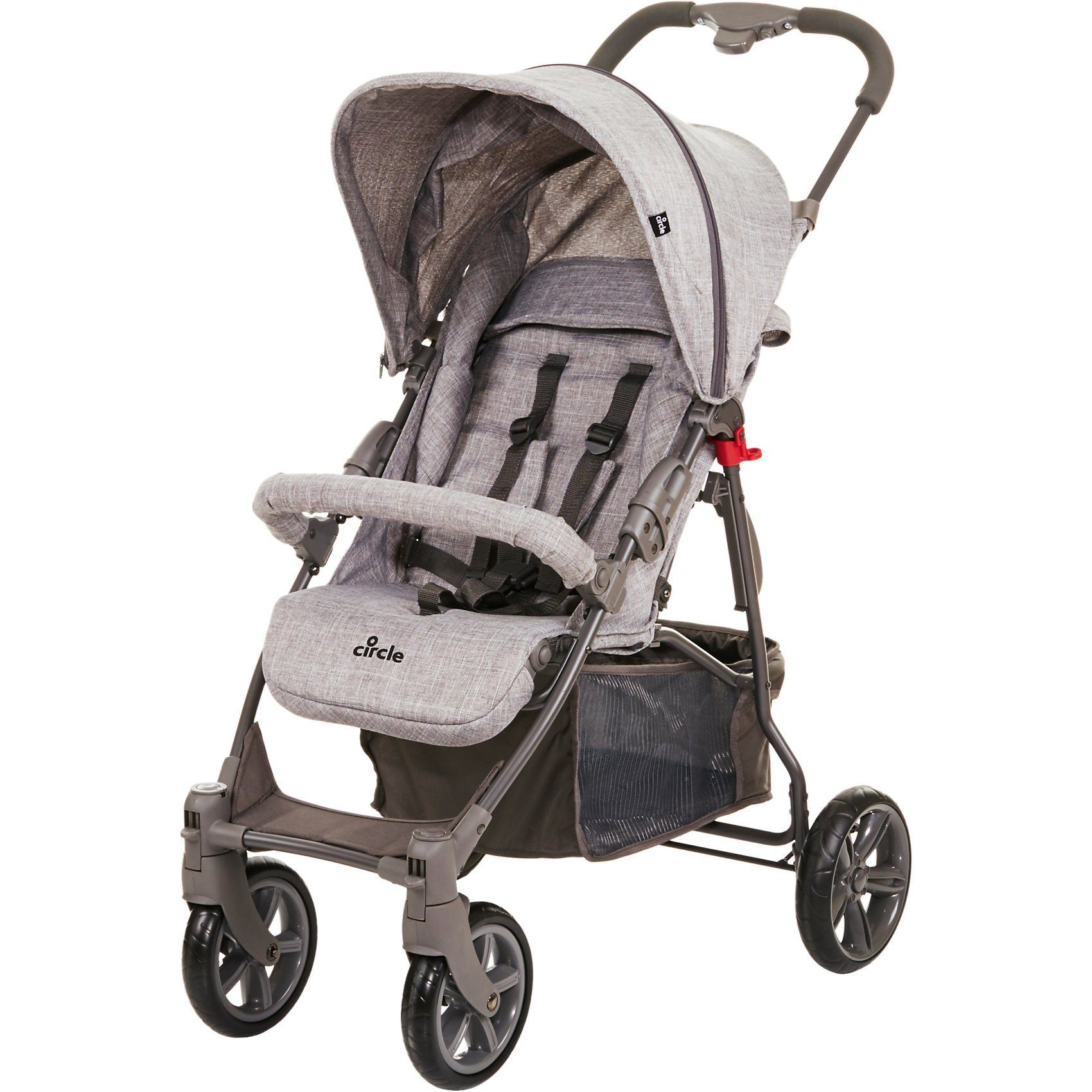 ABC Design Buggy Treviso 4, woven grey