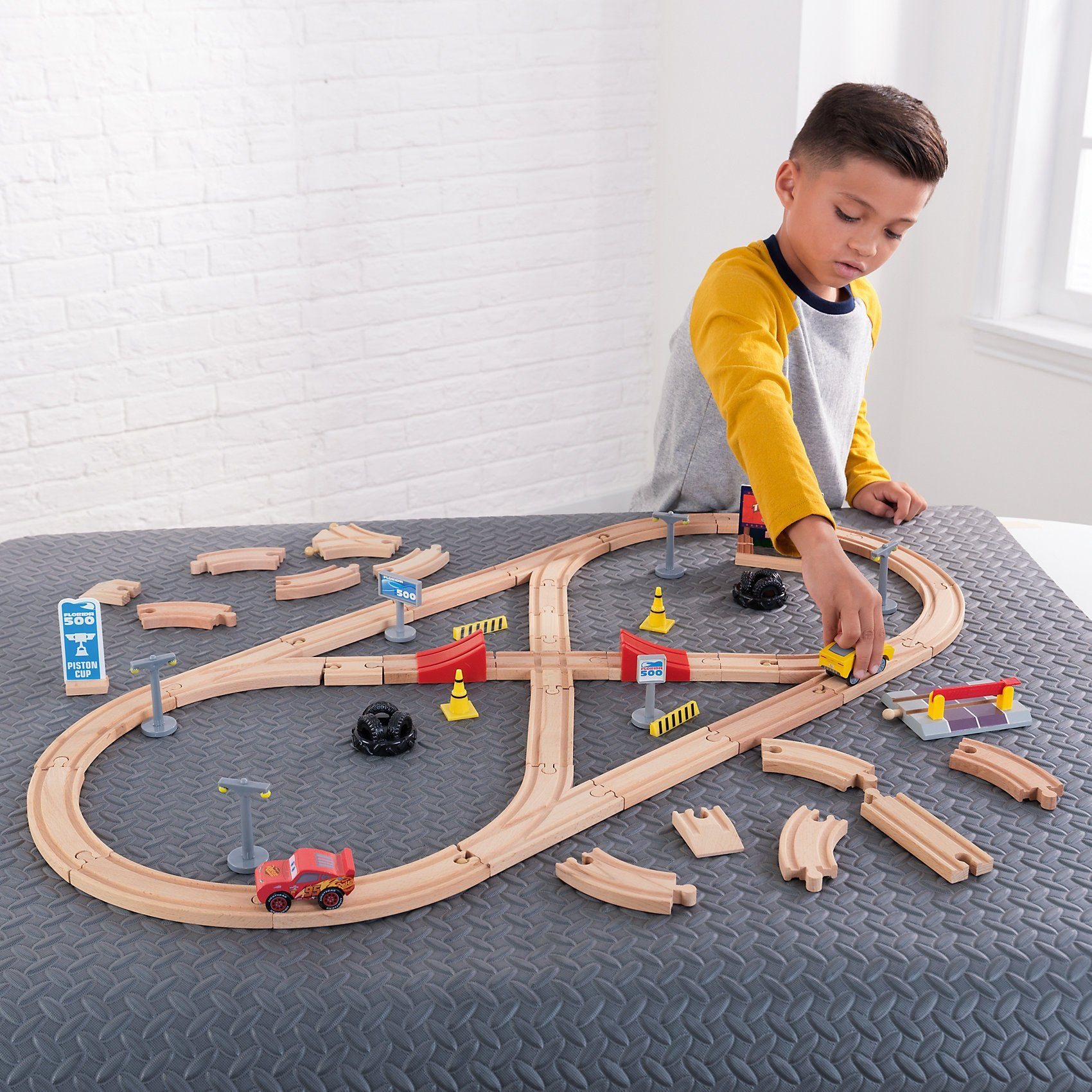 KidKraft Build Your Own Track Set Disney® Pixar Cars 3