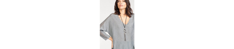 STOOKER WOMEN V-Ausschnitt-Pullover, Valerie mit Fledermausärmeln mit leicht transparentem Lochmuster