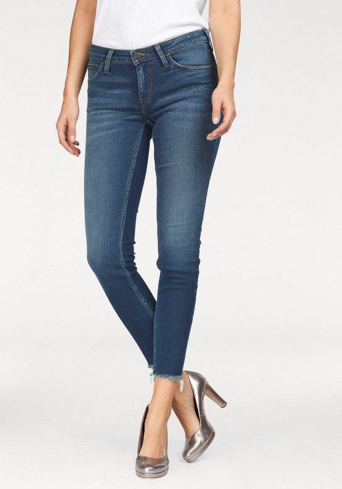 Lee® Destroyed-Jeans »Scarlett« mit ausgefranstem Saum | Bekleidung > Jeans > Destroyed Jeans | Blau | Lee®
