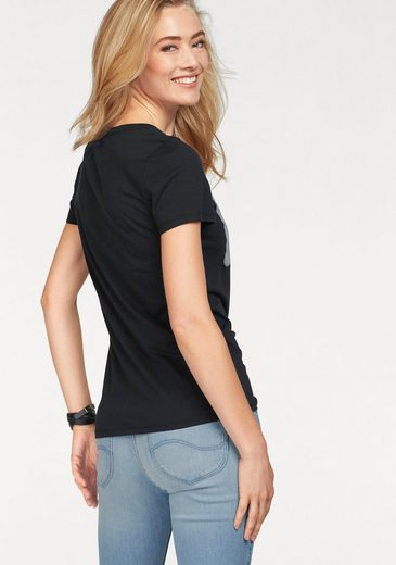 T-shirt Lee®, Avec Un Grand Logo Imprimé De Paillettes