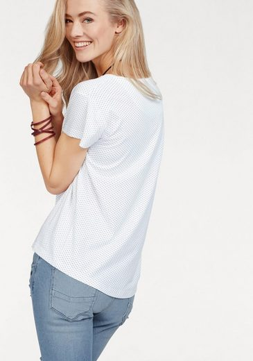 Cross Jeans® T-Shirt, mit trendy Patches